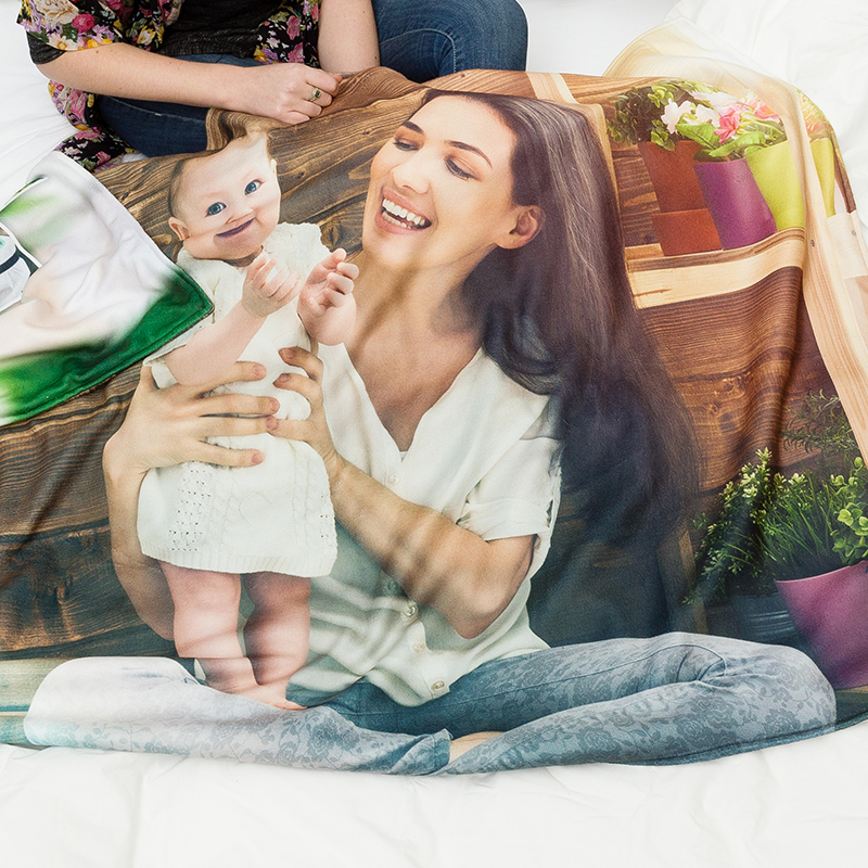 mantas personalizadas para madres