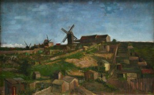 The hill of Monmartre by Van Gogh