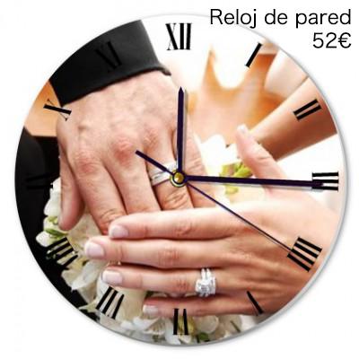 Top 10 regalos de boda foto regalos originales - Relojes originales de pared ...