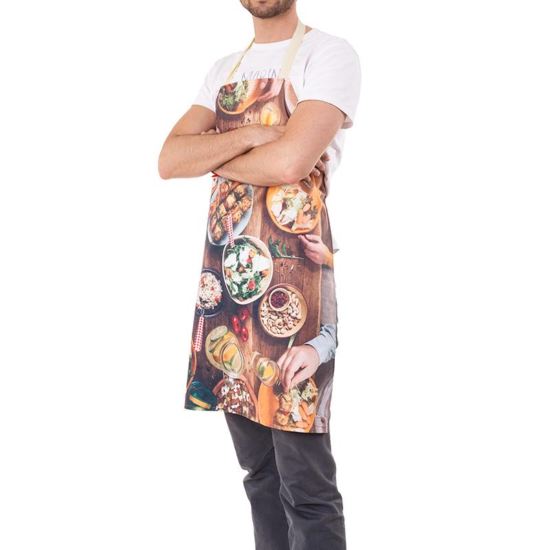 delantal personalizado para cocineros