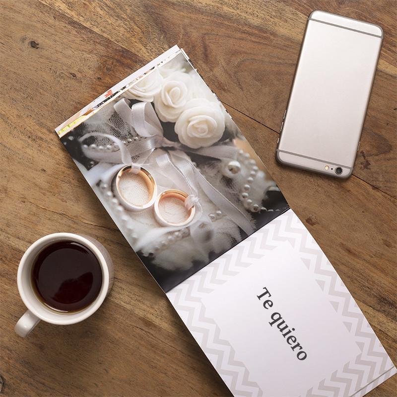 Libro impreso con fotos