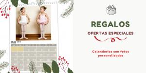 calendarios con fotos navidad