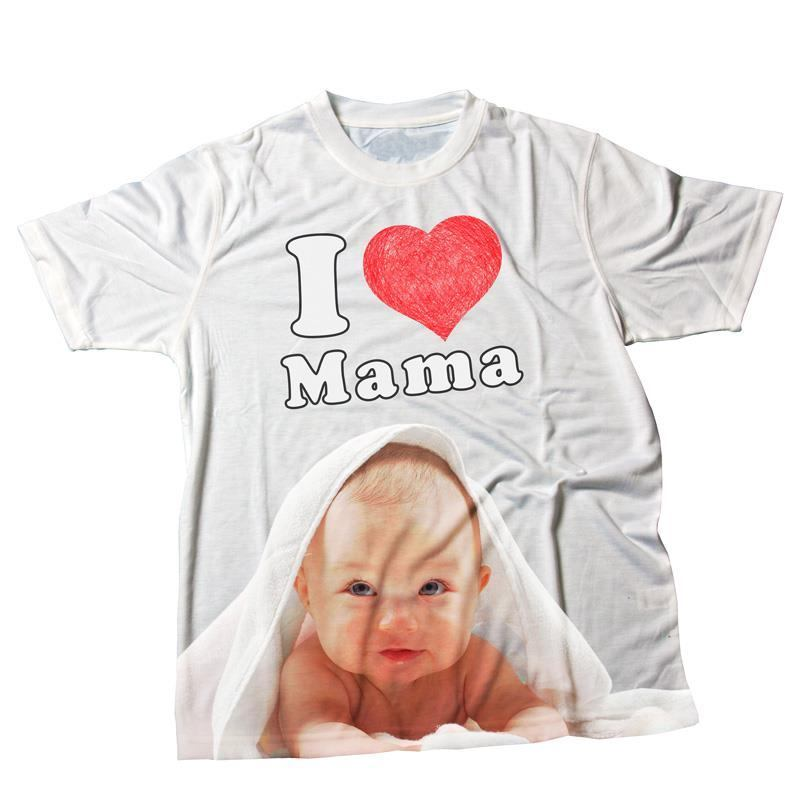 camiseta t-shirt i love mama