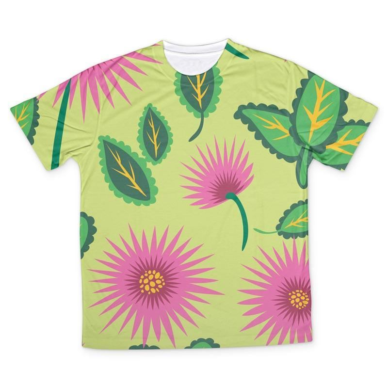 e4addfe17 ... camisetas infantiles personalizadas flores ...